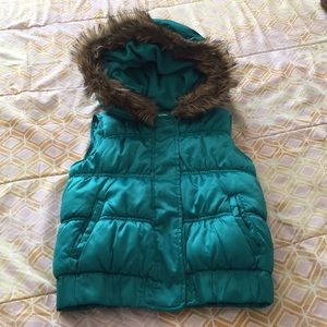 Old Navy Girls Vest with Hood